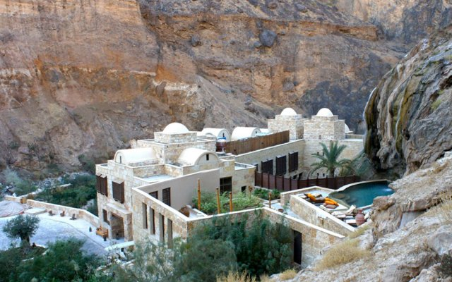 Отель Evason Ma'In Hot Springs & Six Senses Spa Иордания, Ма-Ин - отзывы, цены и фото номеров - забронировать отель Evason Ma'In Hot Springs & Six Senses Spa онлайн бассейн