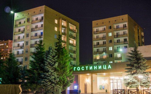 Гостиница -А (бывш. Атоммаш) вид на фасад