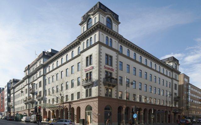 Отель Scandic Grand Central Швеция, Стокгольм - 2 отзыва об отеле, цены и фото номеров - забронировать отель Scandic Grand Central онлайн вид на фасад