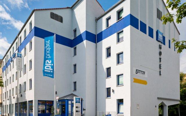 Отель Ibis Budget Munchen City Sud Мюнхен вид на фасад