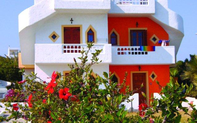 Galini Anissaras Hotel вид на фасад