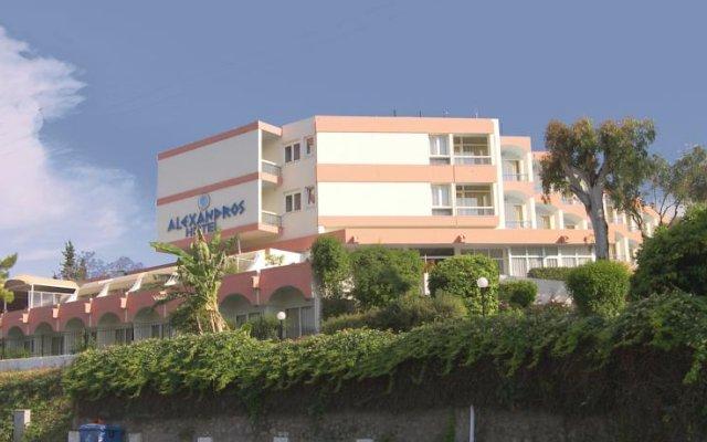 Alexandros Hotel вид на фасад