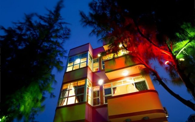 Отель Elite Beach Inn Мальдивы, Северный атолл Мале - отзывы, цены и фото номеров - забронировать отель Elite Beach Inn онлайн вид на фасад