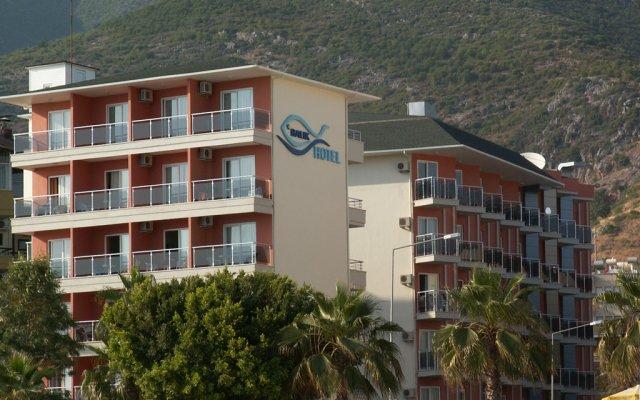 Kleopatra Balik Hotel вид на фасад