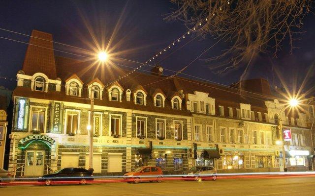 Гостиница Клеопатра Уфа вид на фасад