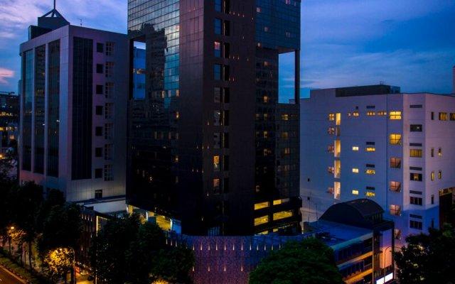 Отель BIG Hotel Сингапур, Сингапур - 1 отзыв об отеле, цены и фото номеров - забронировать отель BIG Hotel онлайн вид на фасад