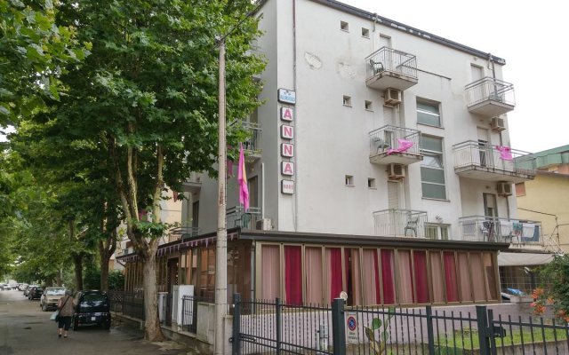 Hotel AnnaMare вид на фасад