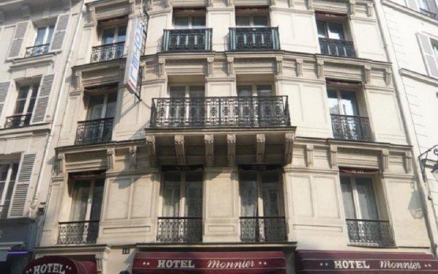 Monnier Hotel Париж вид на фасад