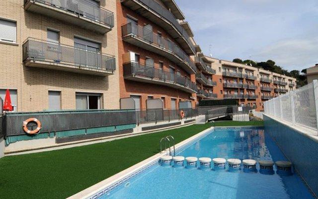 Отель Oferta Apartamentos Blanes Испания, Бланес - отзывы, цены и фото номеров - забронировать отель Oferta Apartamentos Blanes онлайн бассейн