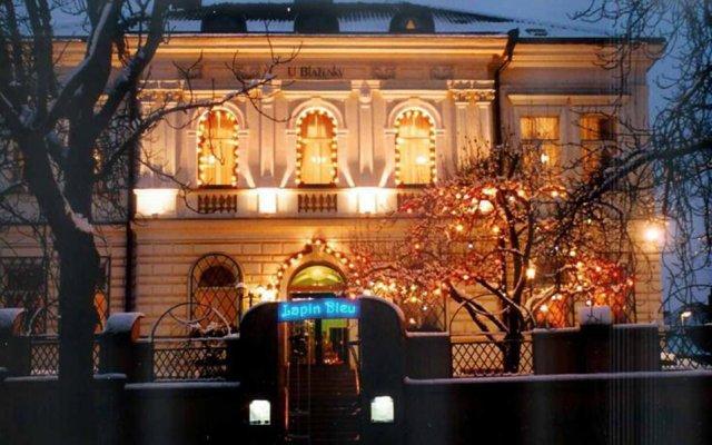 Hotel U Blazenky Прага гостиничный бар