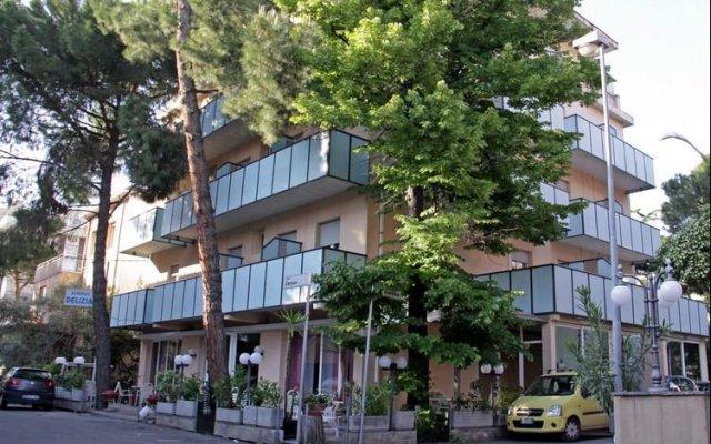Hotel Delizia вид на фасад