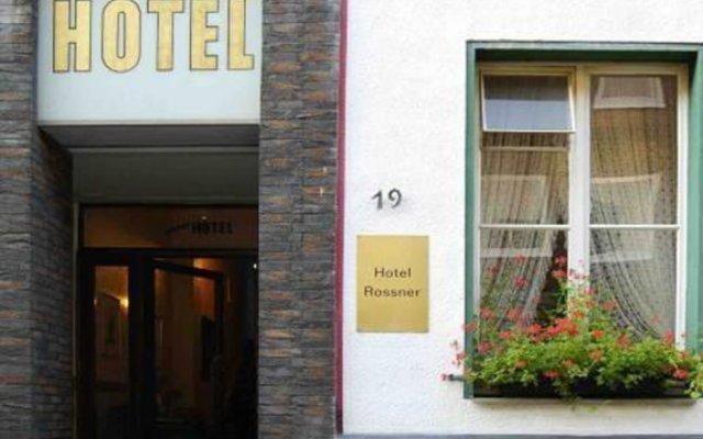 Hotel Rossner вид на фасад