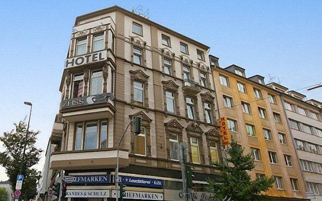 Hotel Komet вид на фасад