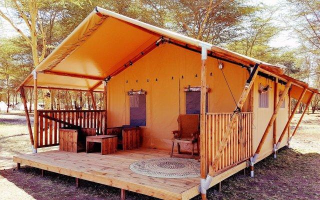 Отель Africa Safari Lake Manyara вид на фасад