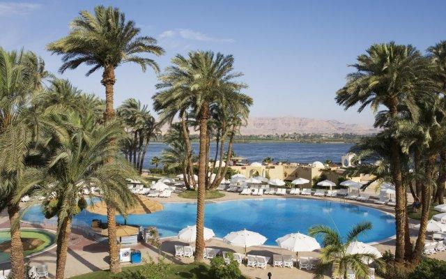 Отель Mercure Luxor Karnak пляж
