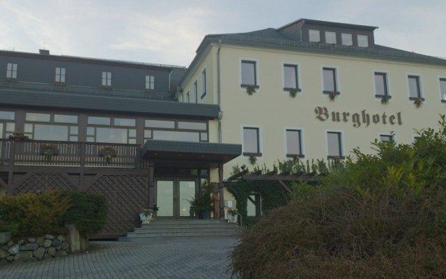 Отель Burghotel Stolpen вид на фасад