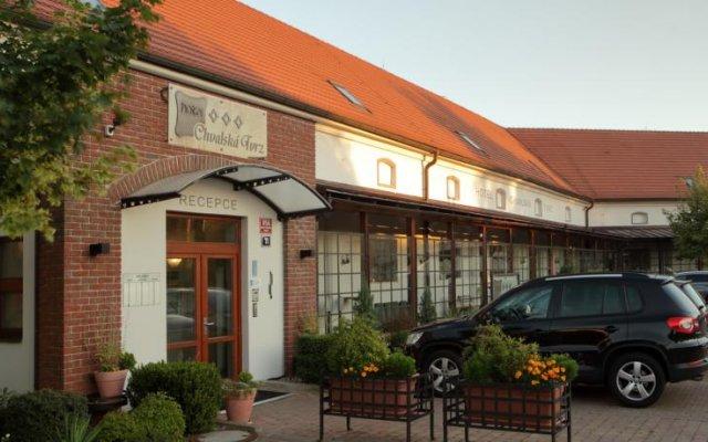 Hotel Chvalská Tvrz вид на фасад