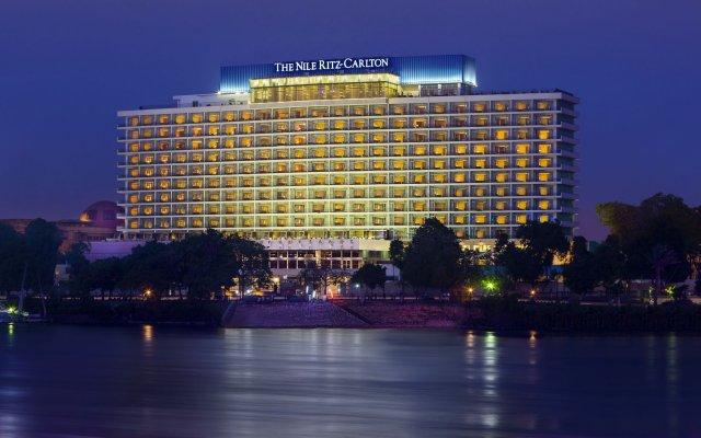 Отель The Nile Ritz-Carlton, Cairo пляж