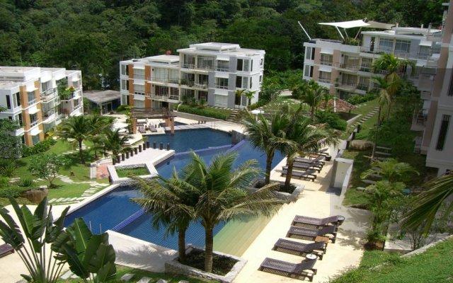 Отель Kamala Hills балкон