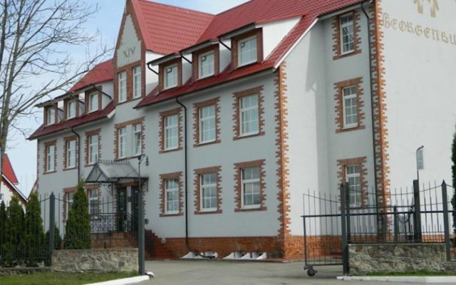 Hotel Georgenburg вид на фасад