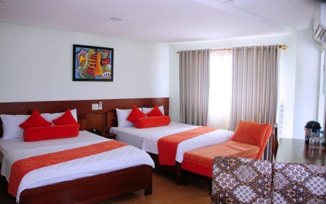 Art Deluxe Hotel Nha Trang комната для гостей