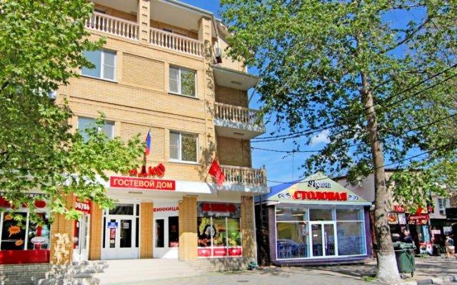 Гостиница Садко на Астраханской 9 в Анапе отзывы, цены и фото номеров - забронировать гостиницу Садко на Астраханской 9 онлайн Анапа вид на фасад