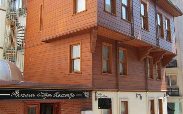 Отель Omer Bey Konagi вид на фасад