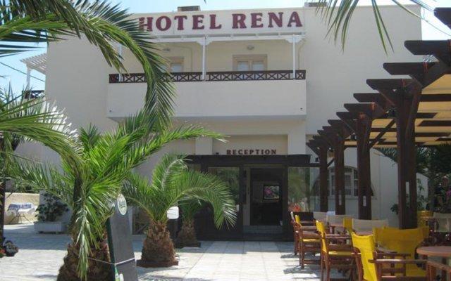 Отель Rena Греция, Остров Санторини - отзывы, цены и фото номеров - забронировать отель Rena онлайн вид на фасад