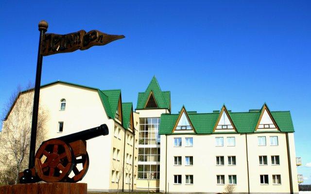 Гостиница Emmaus Volga Club вид на фасад