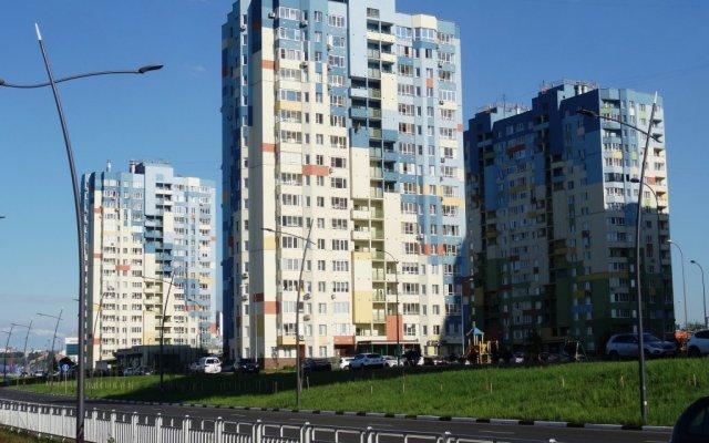 Апартаменты Волжская Набережная 23 Нижний Новгород вид на фасад