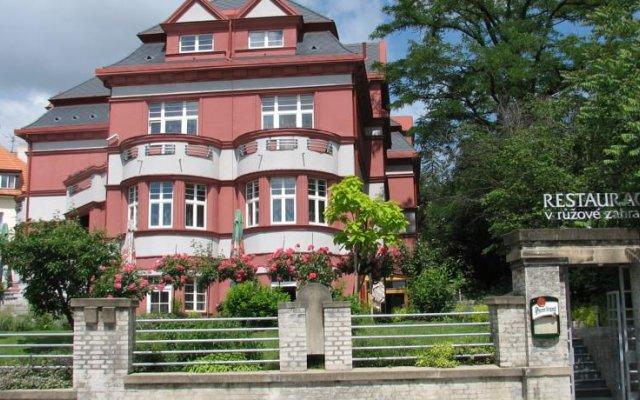 Hotel Villa Прага вид на фасад