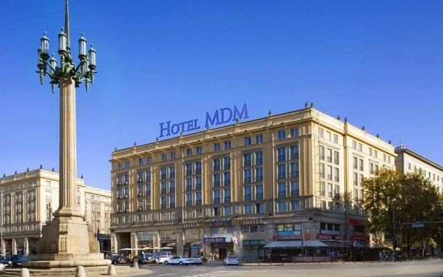 Отель Mdm City Centre Варшава вид на фасад
