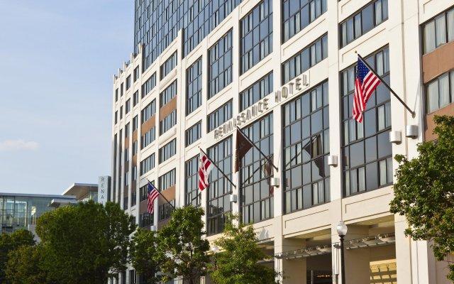 Renaissance Washington, DC Downtown Hotel вид на фасад