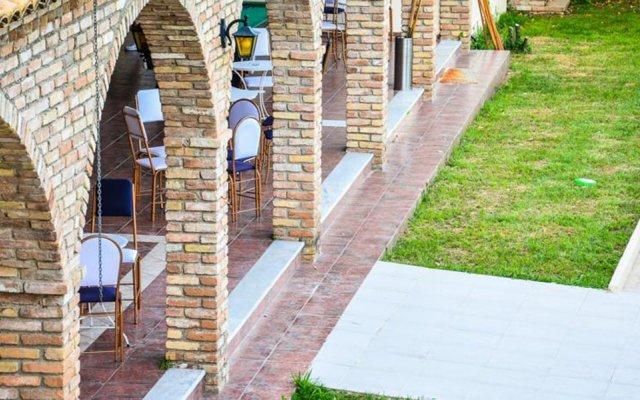 Amalia Hotel вид на фасад
