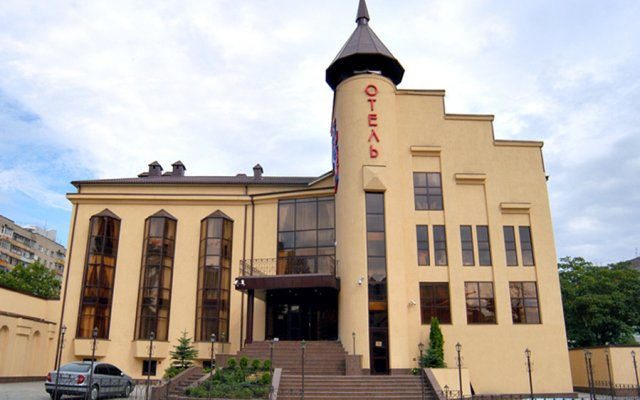 Отель Шери Холл Ростов-на-Дону вид на фасад