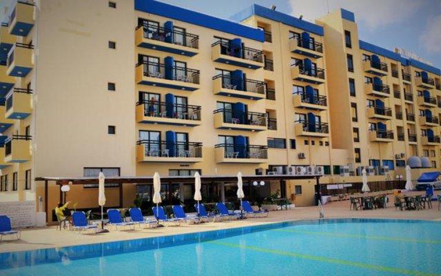 Отель Kapetanios Bay Hotel Кипр, Протарас - отзывы, цены и фото номеров - забронировать отель Kapetanios Bay Hotel онлайн бассейн