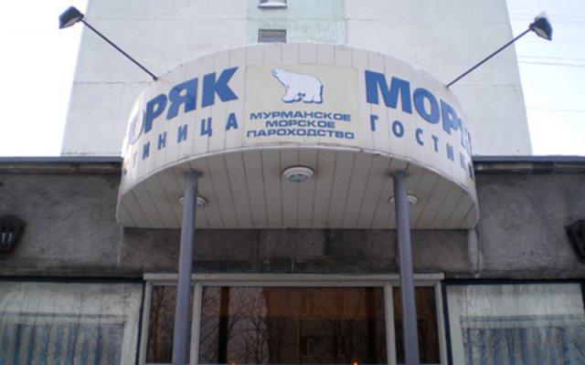 Гостиница Gostinitsa Moryak вид на фасад