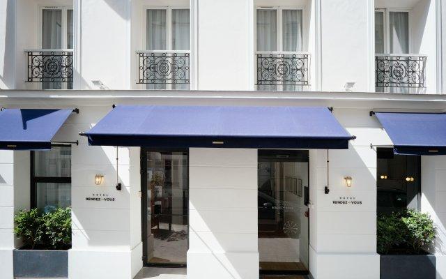 Hotel Rendez-Vous Batignolles Париж вид на фасад