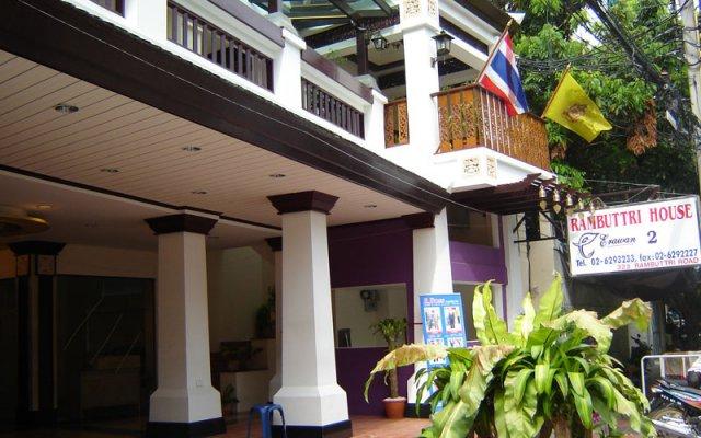 Отель Rambuttri House вид на фасад