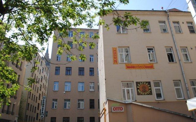 Мини-Отель Булгаков вид на фасад