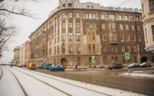 Отель Меблированные комнаты Петроградка Санкт-Петербург вид на фасад