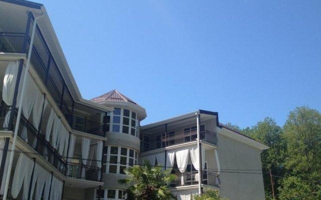 Гостевой дом «Виктория» вид на фасад
