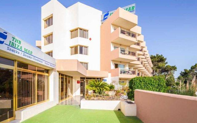 Отель Aparthotel THB Ibiza Mar - Только для взрослых вид на фасад
