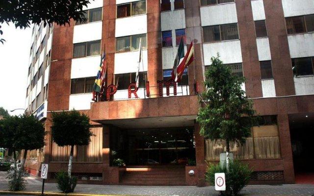 Prim Hotel Мехико вид на фасад