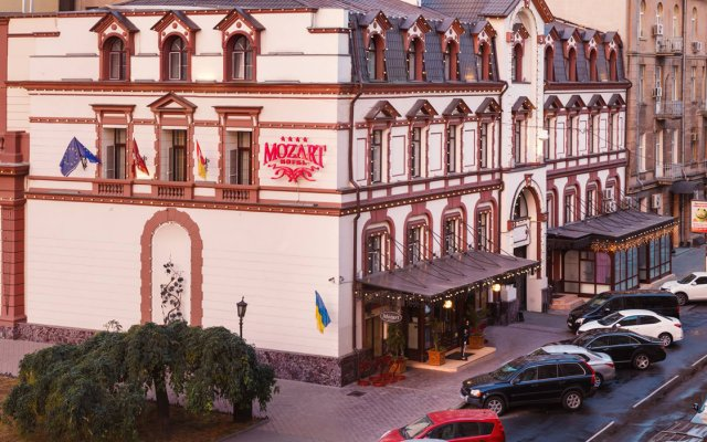 Гостиница Моцарт Одесса вид на фасад