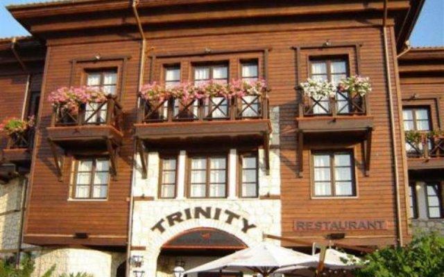 Отель Trinity Sea Residence Nessebar Несебр вид на фасад