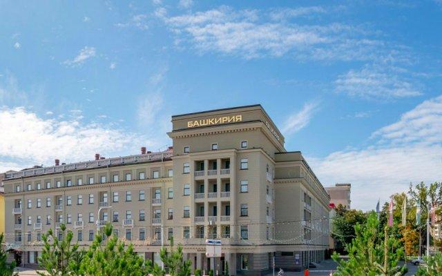 Гостиничный Комплекс Башкирия вид на фасад