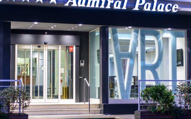 Admiral Art Hotel Римини вид на фасад