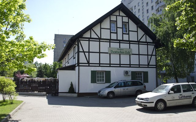 Гостиница Gasthaus Deutsches-Eck Moskau парковка