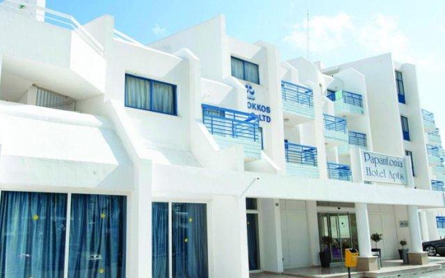 Отель Papantonia Apts Кипр, Протарас - отзывы, цены и фото номеров - забронировать отель Papantonia Apts онлайн вид на фасад